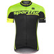 Sportful SC Team Bike Jersey Shortsleeve Men green/black